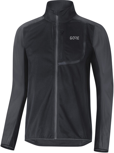 GORE WEAR C3 Gore Windstopper Jacket Men black/terra grey